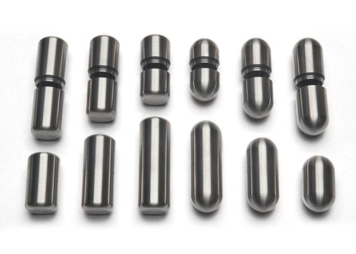 Titanium storage tubes
