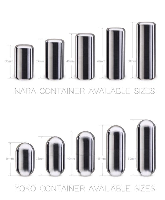 Titanium stories tubes