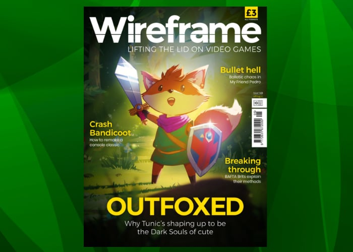 Wireframe games magazine issue 5 now available