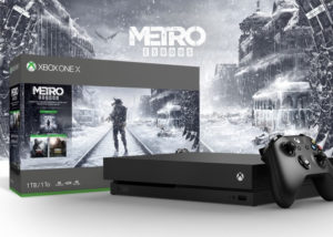 Xbox One X Metro Saga bundle