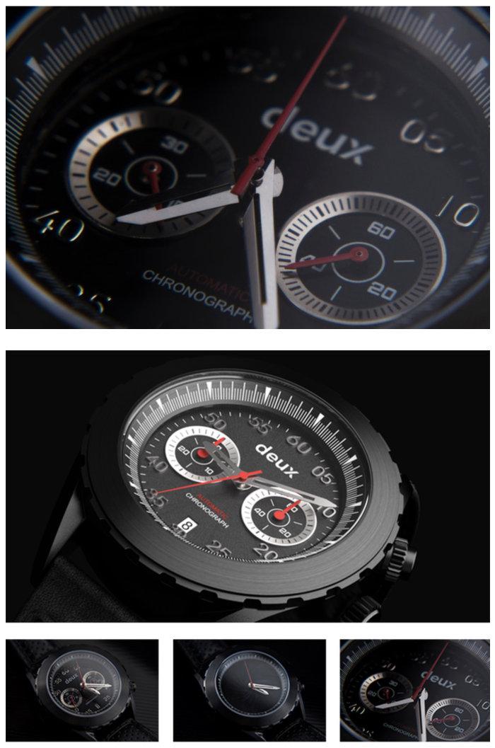 automatic chronograph watch