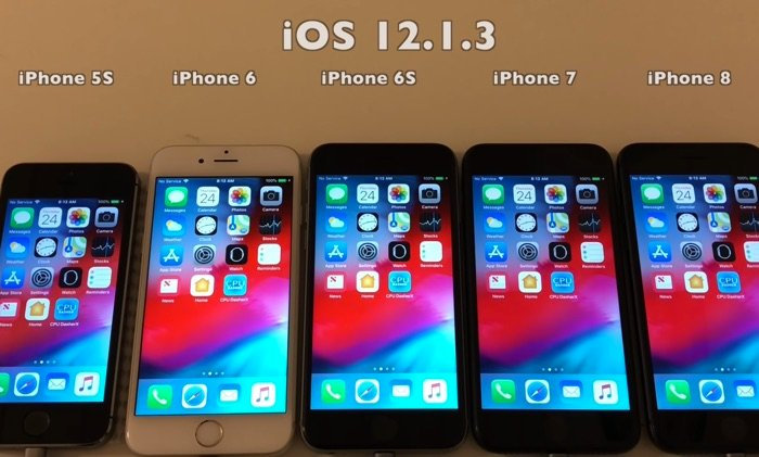 iOS 12.1.3 battery life tests