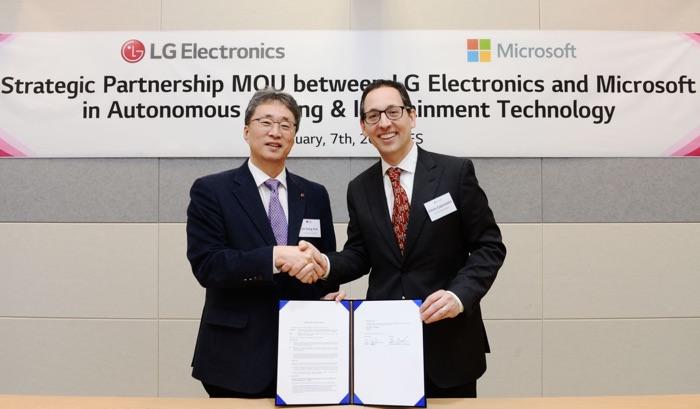 LG and Microsoft