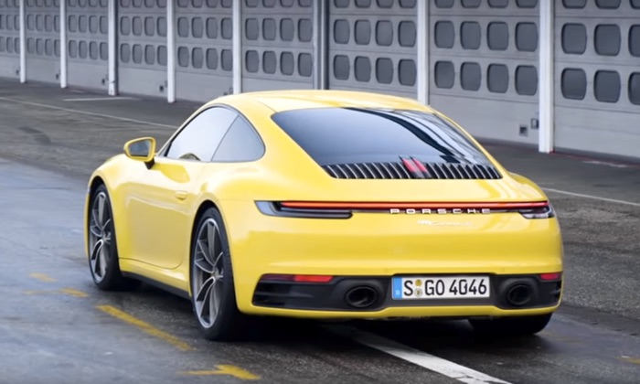 Chris Harris takes the new Porsche 911 for a spin (Video)