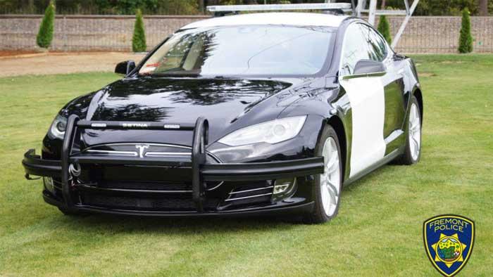 Freemont, California Adds Tesla Model S Police Car - Geeky Gadgets