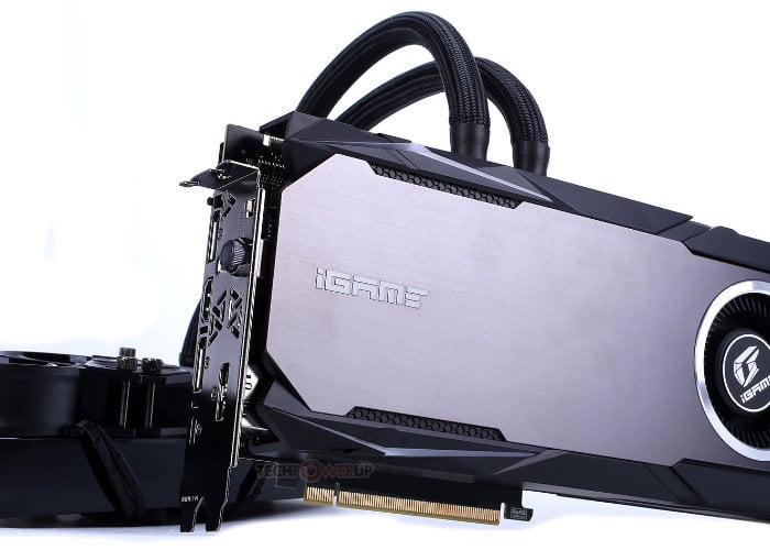 watercooled graphics card