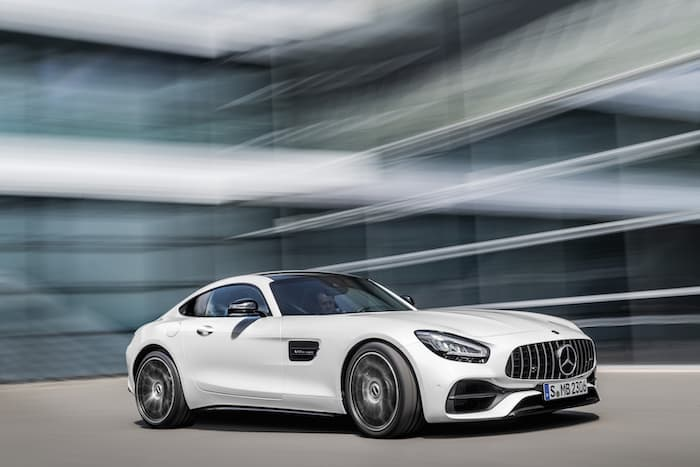 Facelift 2019 Mercedes AMG GT revealed