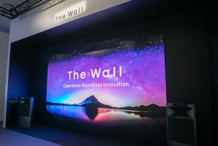 292 inch Samsung The Wall