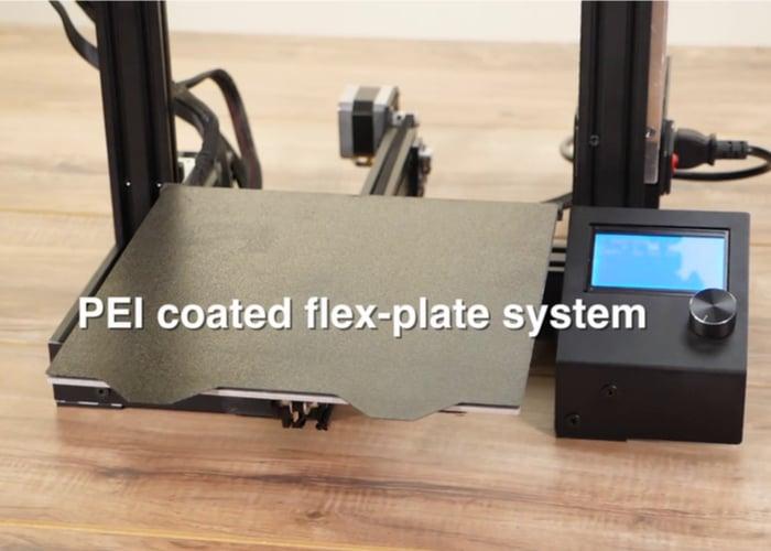 3D Printer PEI coated flex-plate