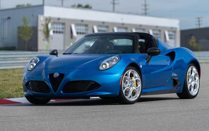 Alfa Romeo 4C Spider Italia Bows in for 2020