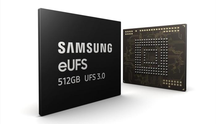512GB eUFS storage 3.0