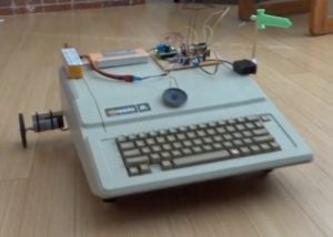 Apple IIe robot