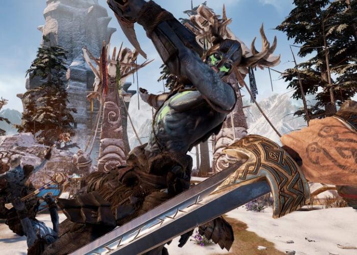 New Oculus Asgard's Wrath VR adventure gameplay