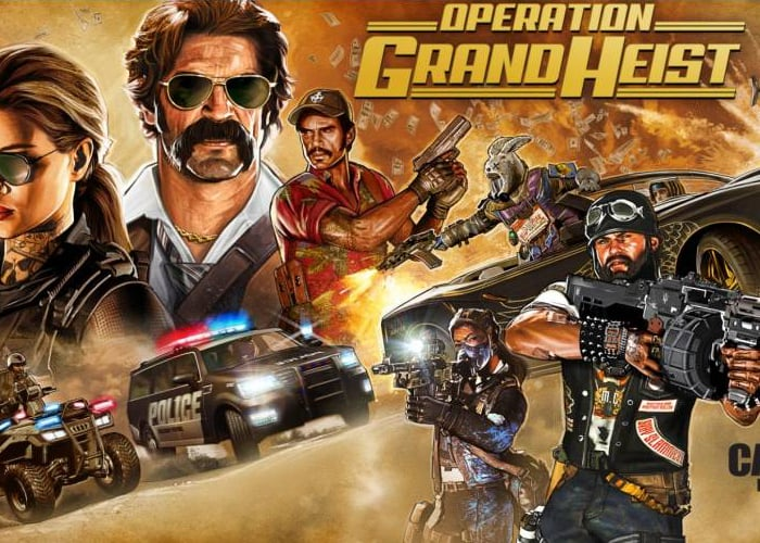 Black Ops 4 Operation Grand Heist