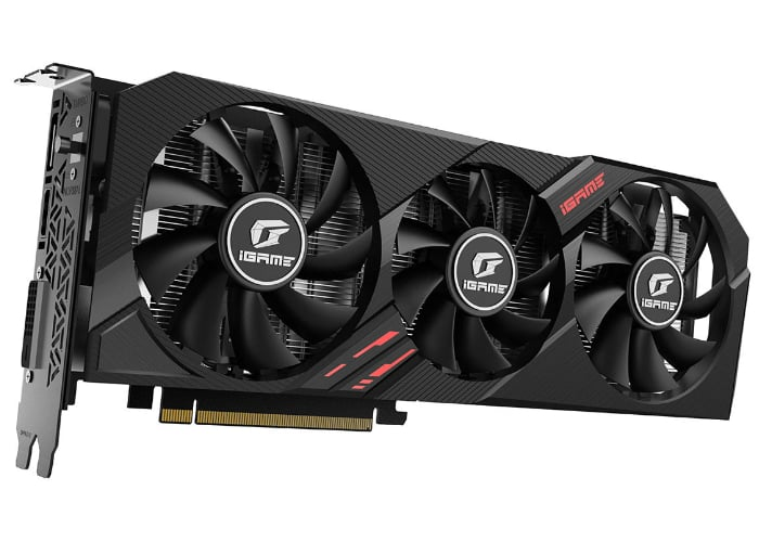 COLORFUL iGame GeForce GTX 1660 Ti Ultra graphics card