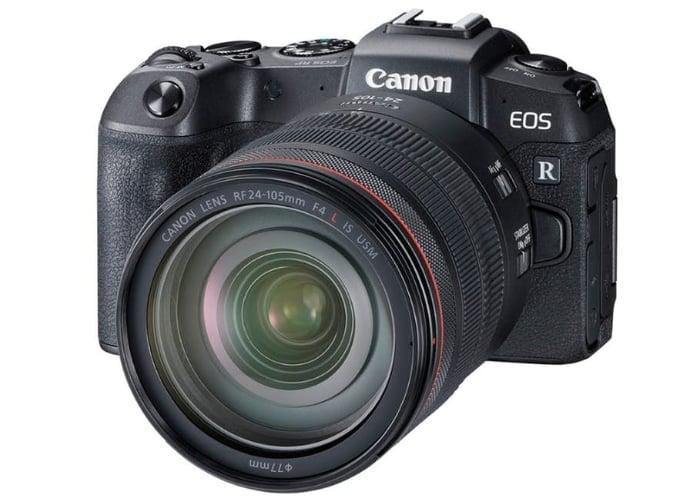 Canon EOS RP mirrorless camer