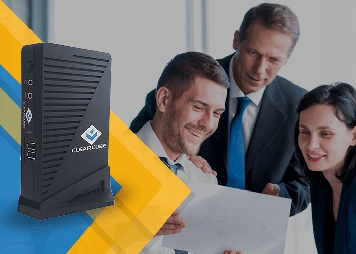 ClearCube thin client mini PC system