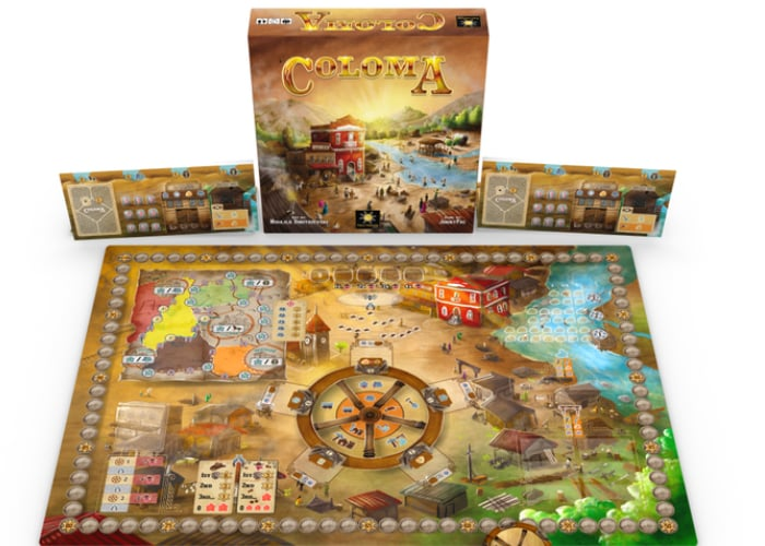 Coloma Western Frontier building strategy game