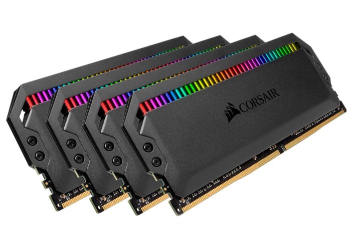 Corsair Dominator Platinum RGB DDR4 memory