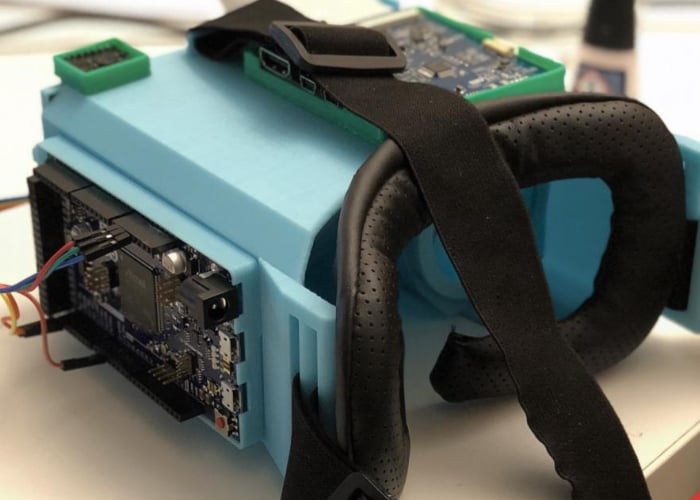 DIY VR headset powered by SteamVR for $100
