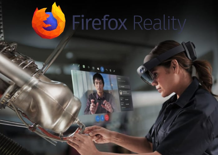 Firefox Reality web browser