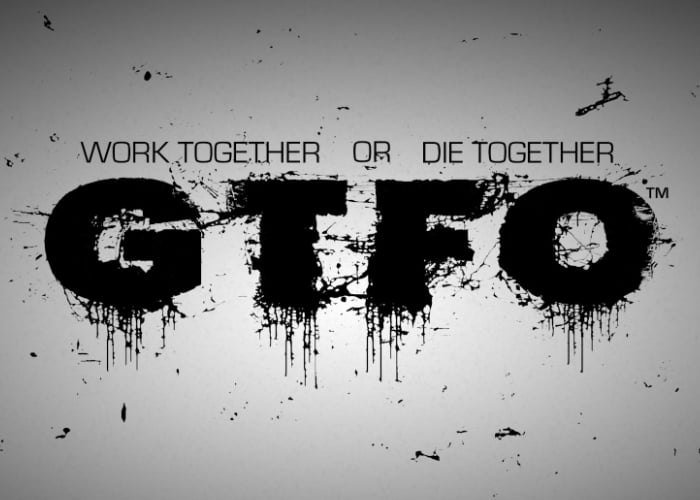 GTFO 4 player co-op game
