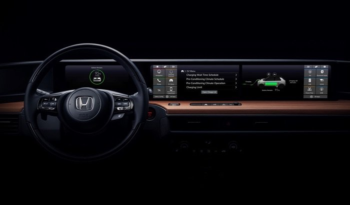 Honda reveals the interior of their EV prototype