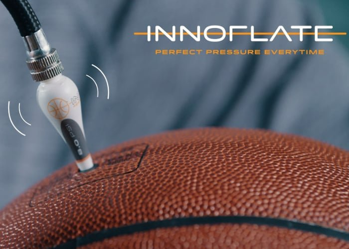 Innoflate self-regulating Basketball inflation needle