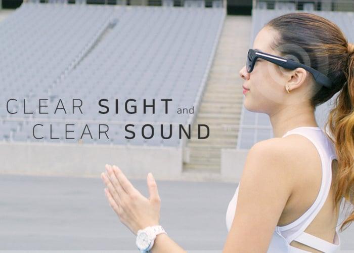 Ironpeak bone conduction headphones and NXT sport glasses
