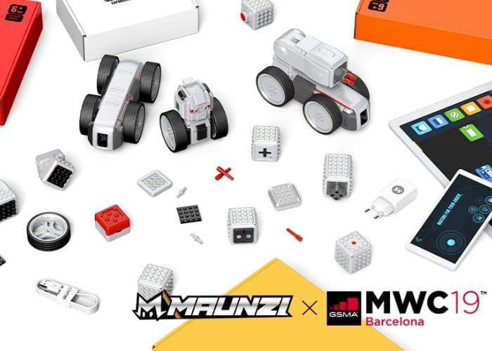 MAUNZI Robot construction kit