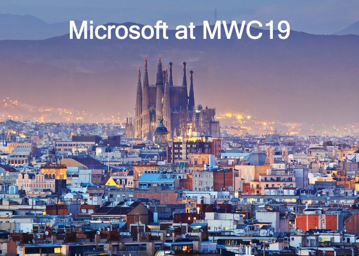Microsoft MWC19 presentation