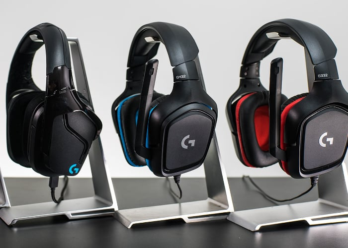 New Logitech G gaming headsets