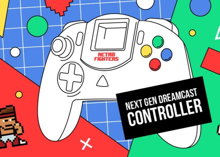 Next generation Dreamcast controller hits Kickstarter