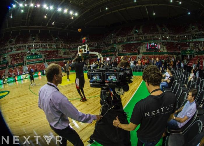NextVR VR broadcasting app