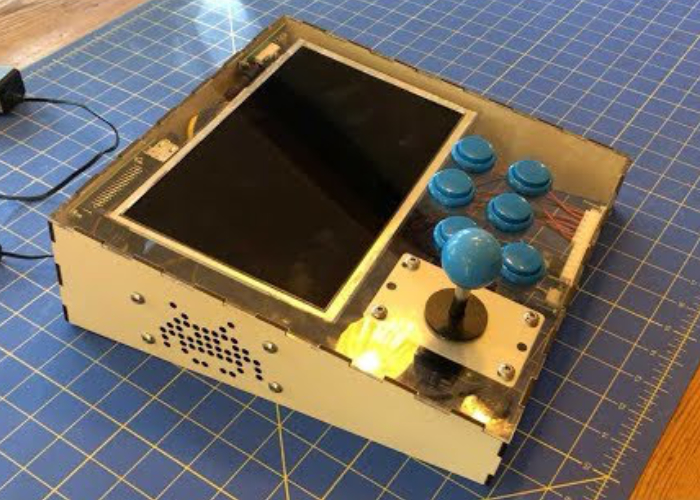 Raspberry Pi RetroPie tabletop arcade