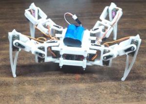 Raspberry Pi quadruped robot
