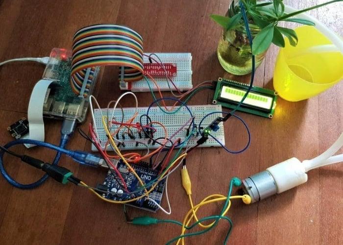 Raspberry Pi smart garden monitor