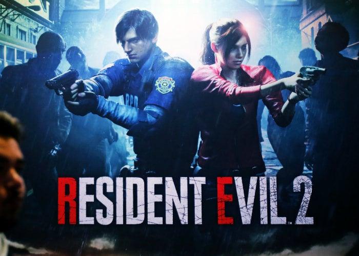 Resident Evil 2 Fixed camera angles