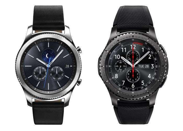 Samsung Gear Sport and Gear S3