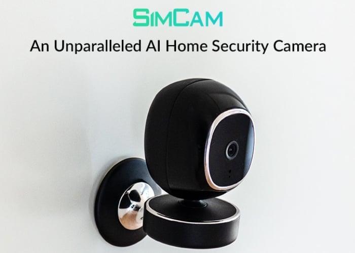 SimCam home security camera
