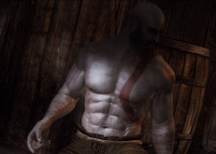 Skyrim God of War mod