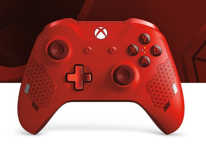 Sport Red Special Edition Xbox wireless controller unboxing