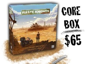 Waste Knights post-apocalyptic board game