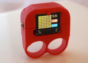 Wearable thermal camera