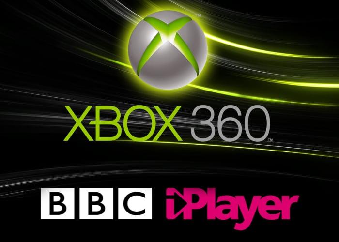 Xbox 360 BBC iPlayer