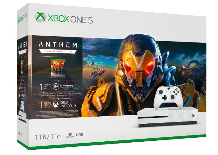 Xbox One S Anthem Bundle