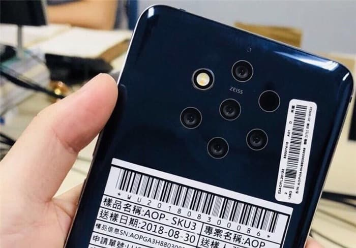 Nokia 9 PureView appears at the FCC