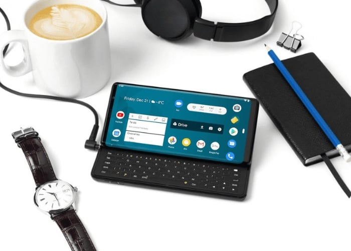 sliding keyboard smartphone