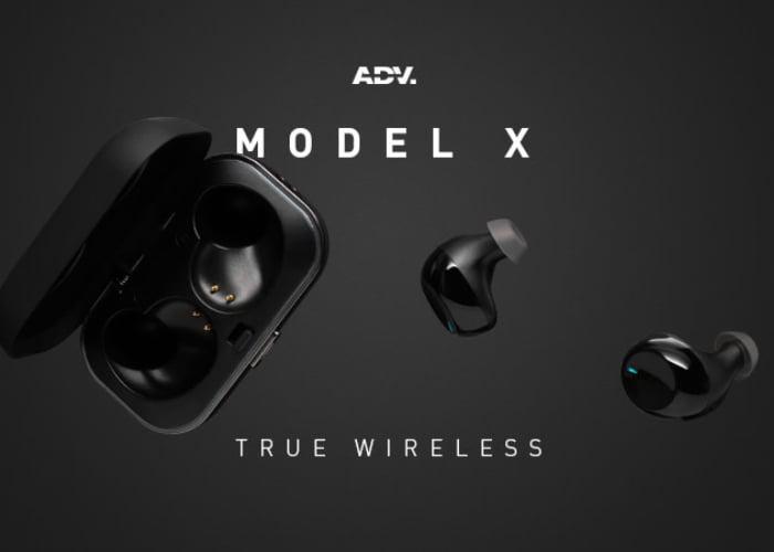 Model X true wireless earbuds
