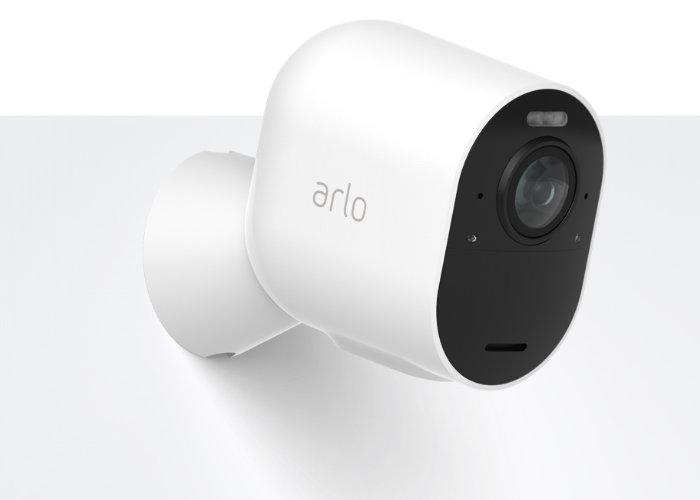 4K wireless security camera
